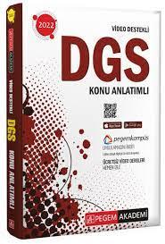2022 DGS Video Destekli Konu Anlatımlı,,Destek Kitap