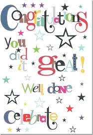 Thegiftcardcentre Co Uk Congratulations Well Done Greeting Card