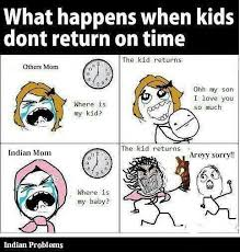 Best Indian Parents funny meme and Trolls !!! Indian Mom vs Other ... via Relatably.com