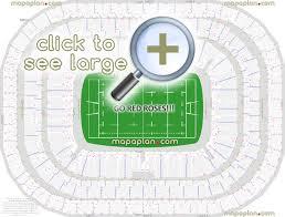 Twickenham Stadium Seat Row Numbers Detailed Seating Chart