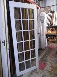18 panel glass door 36 x 92