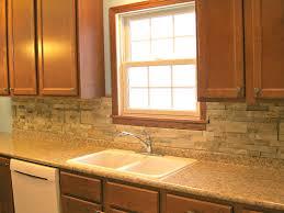 Stone Backsplashes For Kitchens Kitchen Backsplash For Kitchen With Reuse Stone Tiles Pieces