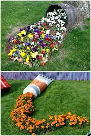 garden art ideas junk garden art