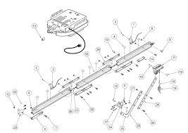Genie excelerator retail rail parts diagram