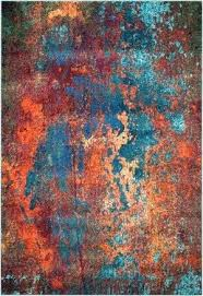 orange area rug. Orange Contemporary Rugs Teal And Area Rug Turquoise T