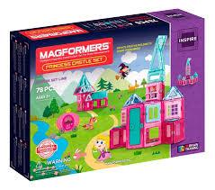 <b>Конструктор Magformers магнитный Princess</b> castle 78 деталей ...