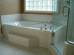 soaker tub and shower  advantage homes corp