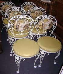 wrought iron vintage patio furniture. White Wrought Iron Garden Furniture Full Size Of Vintage French Patio R