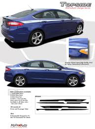 Ford Fusion Color Chart Details About Ford Fusion 2013 2019 Topside Pro Grade 3m Vinyl Side Pin Stripes Decals Graphic