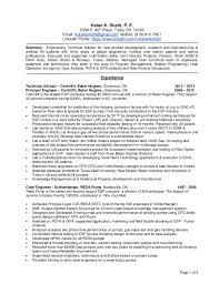 page 1 of 4 ketan k sheth p e 5308 e 80th place chief baker resume