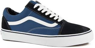 black and white vans shoes high top. vans old skool: navy black and white shoes high top (