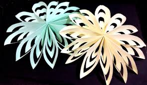 paper snowflakes 3d christmas paper snowflake very easy and rich youtube