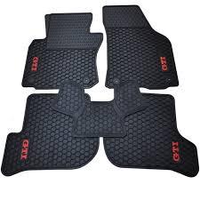 green car floor mats. Special Rubber Pads Wear Waterproof Green Latex Car Floor Mats For VW Golf  6 Scirocco R S