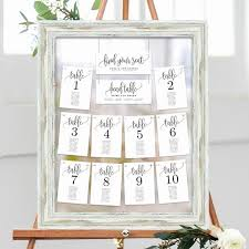 Wedding Table Seating Chart Template Wilkesworks