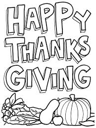 Printable Coloring Pages For Kids Thanksgiving Color Free Best