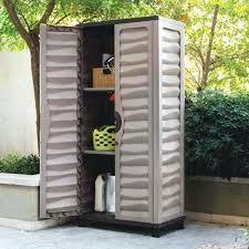plastic outdoor storage cupboards australia tall garden cupboard locker small outside bench be