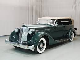 1936 packard eight phaeton hyman ltd clic cars formerly owned by gordon w reed and gordon reed his father bought in 1959 from wendell chapell