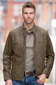 aston lambskin leather jacket by overland sheepskin co style 23780