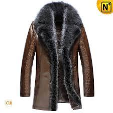 sheepskin leather coat mens cw852555 cwmalls com