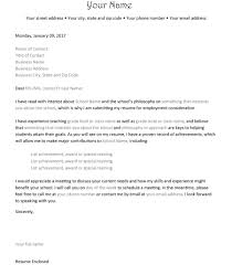 Cover Letter Resume Enclosed 100 Amazing Letter Of Interest Samples Templates 57