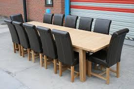 large dining table seats 10 12 14 16 people huge big tables brilliant 12 seater dining