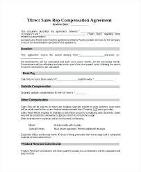 Compensation Spreadsheet Template Sales Compensation Plan Template