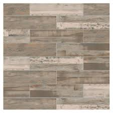 marazzi montagna wood weathered gray 6 in x 24 in porcelain floor and wall