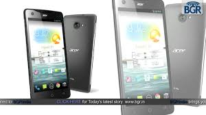 Acer Liquid S1 Android smartphone ...
