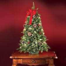 Tabletop Christmas Tree Uk Part - 26: ... Baby Nursery: Comely Pre Lit  Decorated Tabletop Christmas Trees Walmart: Small Version