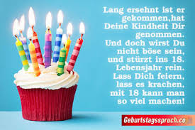 ᐅ Coole Sprüche Zum 18 Geburtstag Gratulieren Zur Volljährigkeit