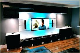 135 gorgeous full image for computer desk tv stand brown wooden floating cabinets with storage combined