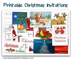 Christmas Potluck Invitation Template Free Printable Make Your Own