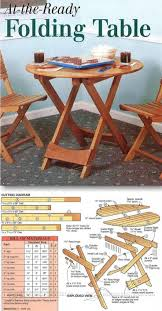 folding table plans furniture plans and projects woodarchivist com