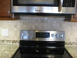 Small Kitchen Backsplash Backsplash Tile For Small Kitchen Dark Chocolate Wood Cabinetry