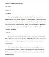 leadership essay example effective leadership essay essays leadership essay 7 samples examples format