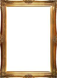 frame. Victorian Gold Frame 24