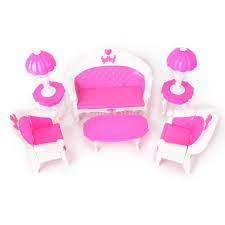 Barbie Doll Living Room Furniture Gift Set Doll Accessories Free