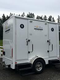 bathroom trailer rental.  Bathroom Two Stall Solar Spa Restroom Trailer Rental  Royal Throne Restrooms For Bathroom