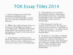 theory of knowledge tok in individual subjects ppt video 29 tok