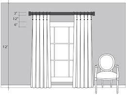 patio door curtains size