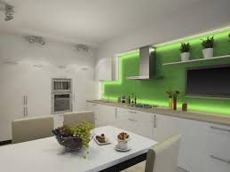 image modern kitchen lighting. Unique Modern This Funky Recessed Lighting Also Illuminates The Counter Tops And  Cabinetry In This Modern Kitchen For Image Modern Kitchen Lighting