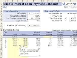 Simple Loan Amortization Schedule Simple Interest Mortgage Calculator Amortization Magdalene