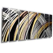 solar flare 68 x24 large modern abstract metal wall art sculpture gold purple on modern abstract metal wall art sculpture with solar flare 68 x24 large modern abstract metal wall art sculpture