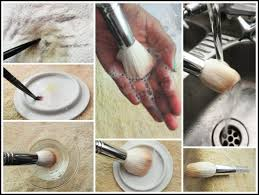 clean your make up brushes image source