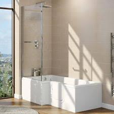 easy access bathtubs showers. easy access walk in l shape shower bath with glass screen + panel - rh door bathtubs showers