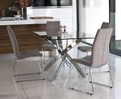 rectangular glass dining tables. Attractive Glass Rectangle Dining Table Linsdale Clear Rectangular Tables