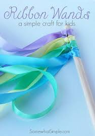 arts and crafts to do at home with toddlers. ribbon wands. toddler gymnasticsgymnastics craftstoddler arts and crafts to do at home with toddlers e