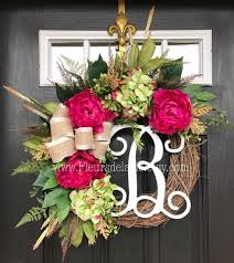 spring wreath for front door122 best Door Decor images on Pinterest  Wreath ideas Diy wreath