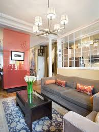living room dividers. inspiration for a timeless living room remodel in new york with beige walls dividers \
