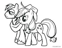 My Little Pony Friendship Is Magic Coloring Pages Little Pony